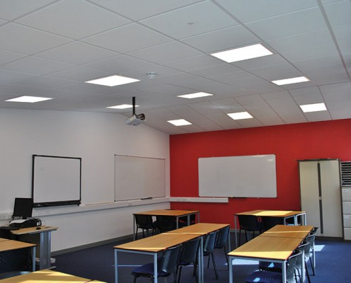 Eccles 6th Form College Classroom