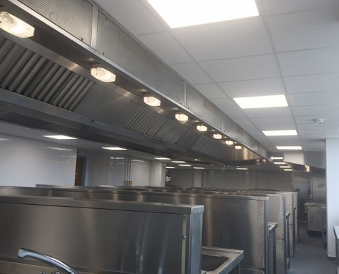 Southport College kitchen