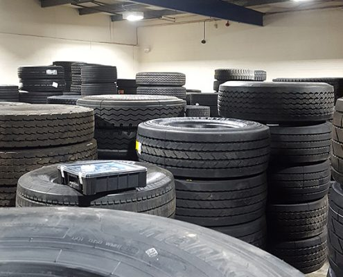 Lodge Tyres, Manchester - low energy lighting installation
